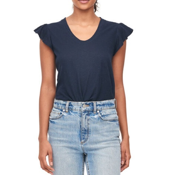Rebecca Taylor Tops - Rebecca Taylor La Vie Washed Textured Jersey Tee